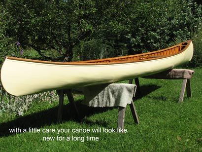 Cedar Canvas Canoe New